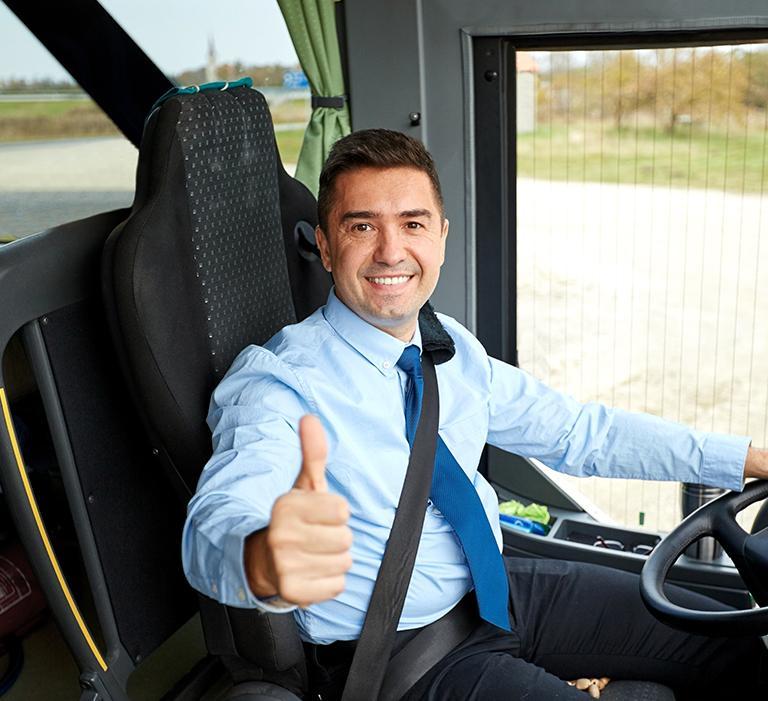 Trans Stach Firma wielobranżowa Stanisław Mazurek - Kierowca autokaru
